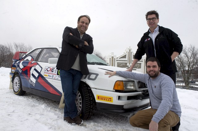 Le directeur du Grand Prix de Trois-Rivières Dominic... (Stéphane Lessard)