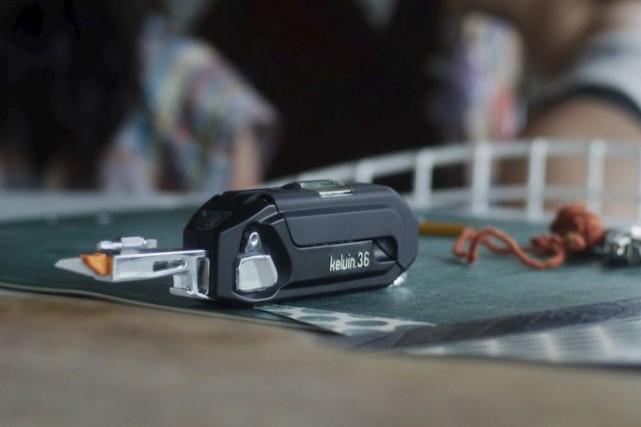 Le Kelvin 36 se présente comme le couteau... (Fournie par Kelvin Tools)