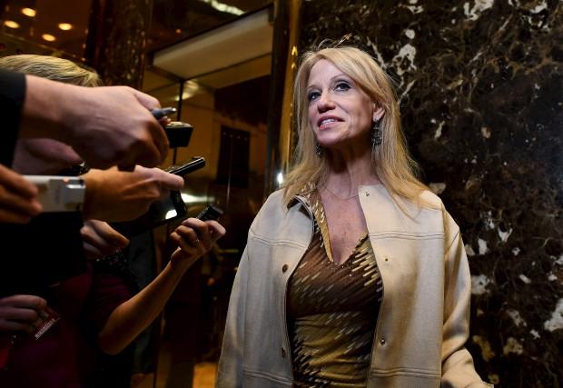 Kellyanne Conway est une proche conseillère du président... (AFP, Jewel SAMAD)
