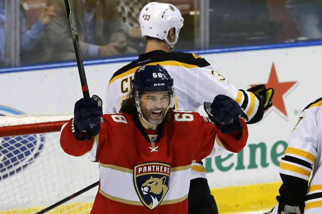 Jaromir Jagr... (PHOTO Joe Skipper, AP)
