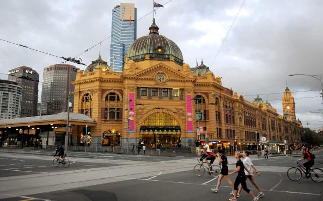 La police australienne a annoncé vendredi avoir déjoué... (AFP, WILLIAM WEST)