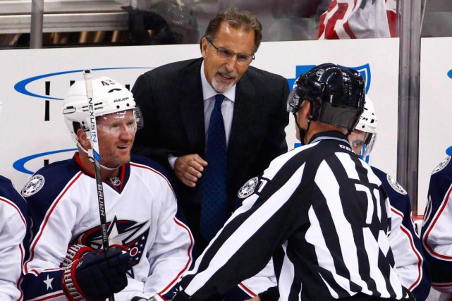 L'entraîneur-chef des Blue Jackets de Columbus, John Tortorella.... (Photo archives La Presse canadienne)