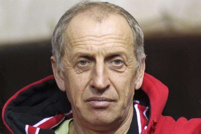 L'entraîneur Vladimir Mokhnev a été reconnu coupable d'avoir... (Photo Aleksander Chernykh, archives AP)