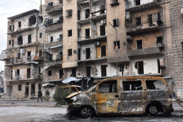 L'armée syrienne avait annoncé jeudi soir la reprise... (Photo AFP)