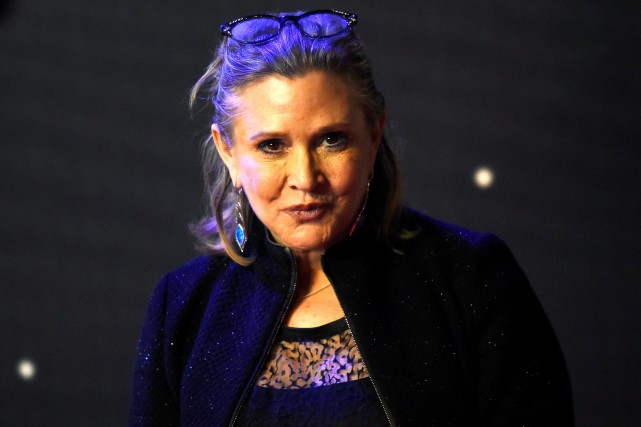 Carrie Fisher incarne la princesse Leia dans la... (Photo Reuters)