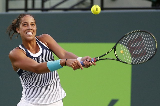 Madison Keys... (PHOTO Joel Auerbach, AP)