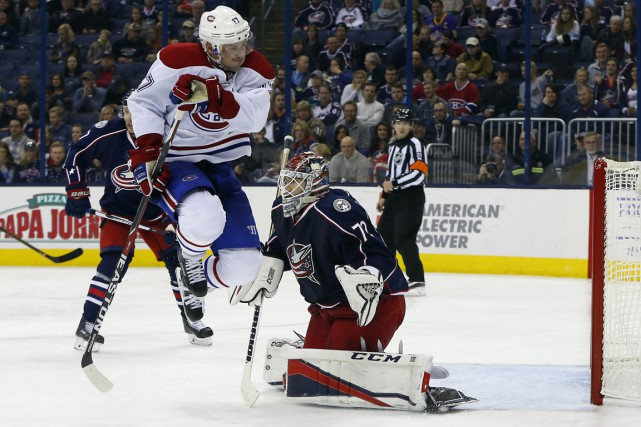 Le Canadien s'est incliné 2-1 contre les Blue Jackets vendredi soir, à Columbus. (PHOTO Russell LaBounty, USA TODAY Sports)