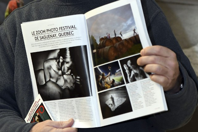 Zoom Photo Festival se retrouve dans le magazine PHOTO. La 7e... (Photo Le Progrès-dimanche, Rocket Lavoie)
