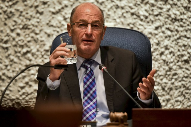Le maire de Trois-Rivières, Yves Lévesque.... (François Gervais)
