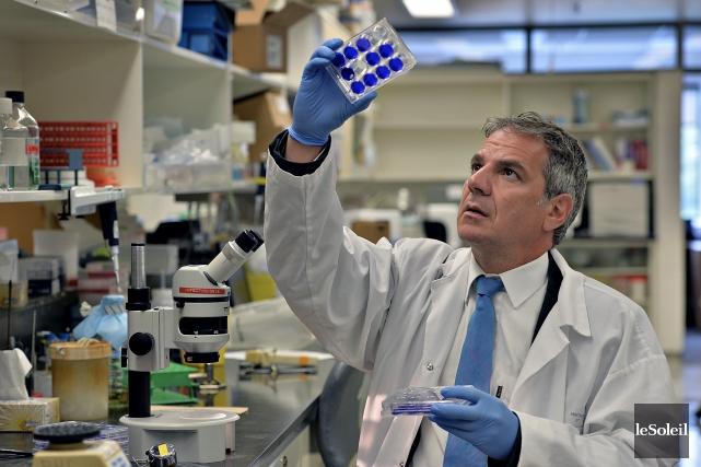 Après avoir contribué à produire un vaccin contre... (Photothèque Le Soleil, Patrice Laroche)