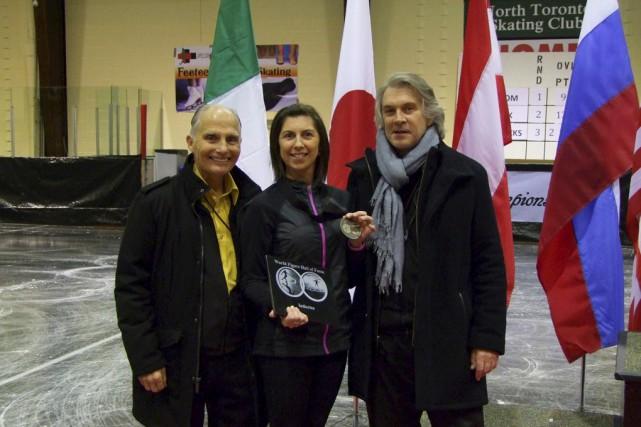 Chantal Gagnon, qui est entraîneuse de patinage artistique... (Fournie)