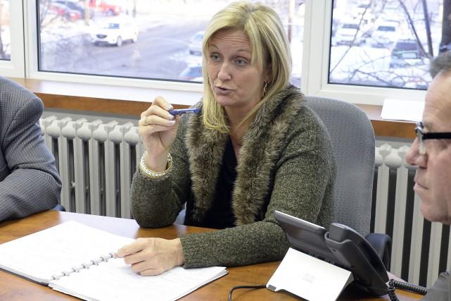 La directrice générale de la Commission scolaire des... (Archives Le Progrès-Dimanche, Jeannot Lévesque)