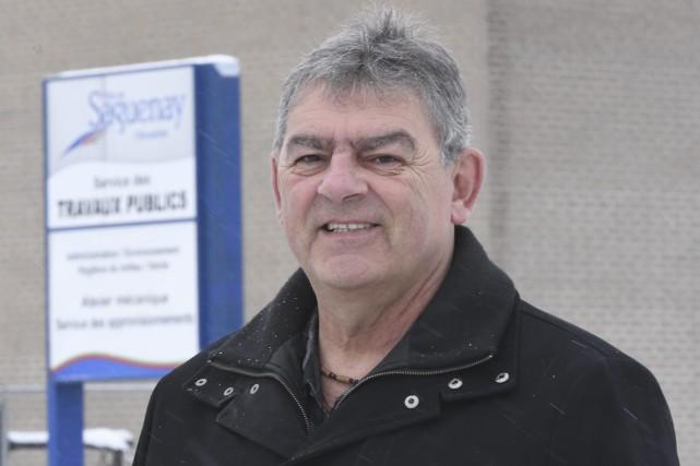 Le président du Syndicat des cols bleus de... (Photo Le Progrès-Dimanche, Jeannot Lévesque)