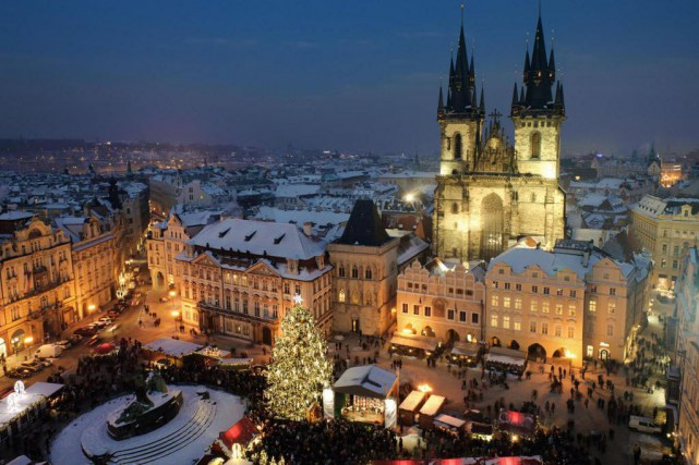 Prague est un condensé de splendeur architecturale, de... (PHOTO THINKSTOCK)