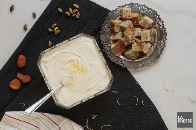 Trempette au fromage à la crème citronné... (PHOTO HUGO-SEBASTIEN AUBERT, LA PRESSE)