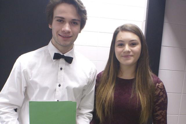 Des élèves du programme d'arts et métiers de... (Photo Le Progrès-Dimanche, Mélissa Viau)