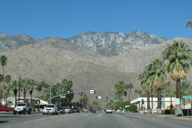 La ville de Palm Springs est construite au... (Photo courtoisie, Denise Bourgeois)