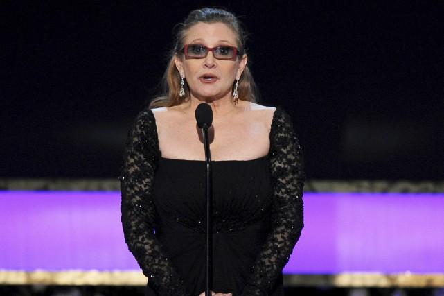 L'actrice américaine Carrie Fisher a subi vendredi une... (AP, Vince Bucci)