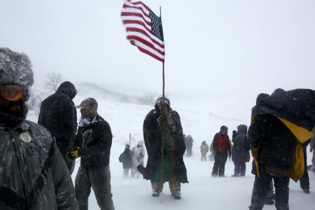 La réserve de Standing Rock, où des autochtones... (Photo archives Reuters)