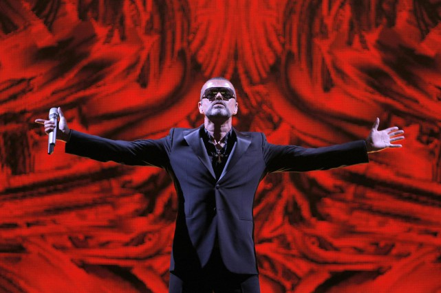 George Michael sur scène en 2012.... (Photo archives AP)
