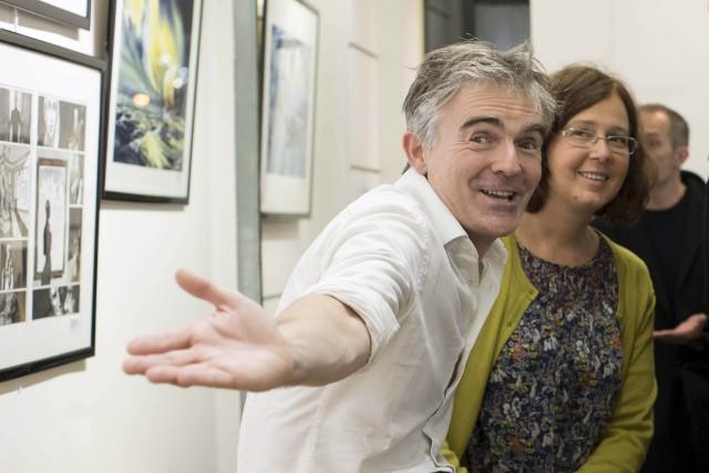 L'artiste visuel Emmanuel Lepage et la scénariste Sophie... (Courtoisie)