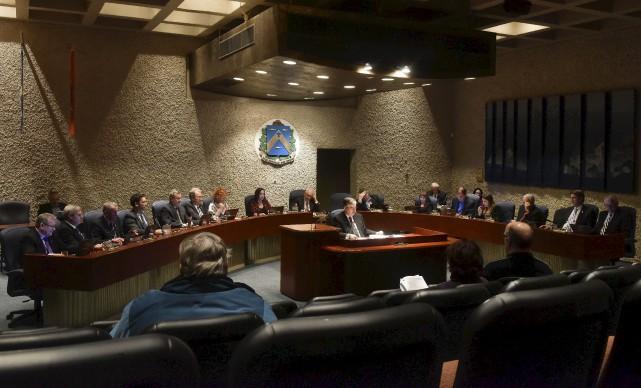 Les conseillers de la Ville de Trois-Rivières ont... (François Gervais, Le Nouvelliste)