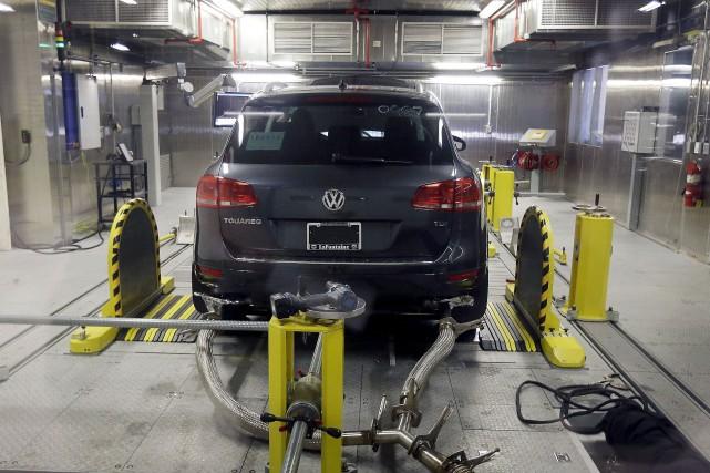Volkswagen en a bavé depuis que la United... (Associated Press)