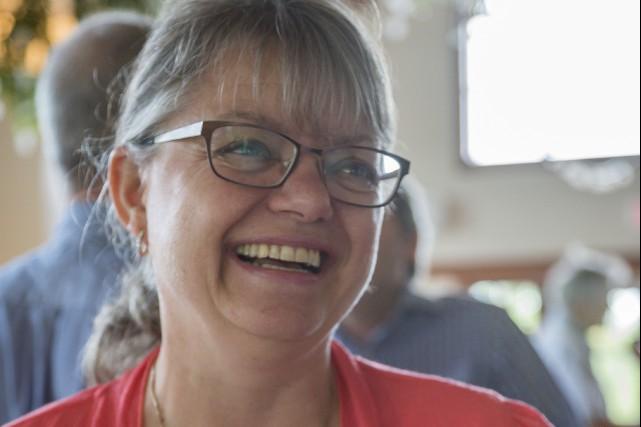 La mairesse d'Austin, Lisette Maillé... (Archives La Tribune, Marie-Lou Béland)