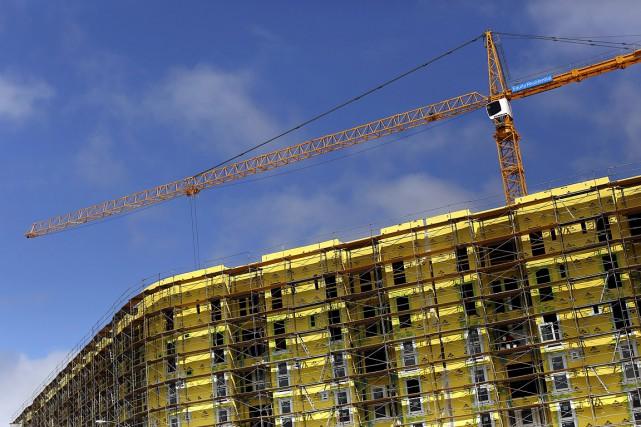 Un projet de construction, en Californie.... (Robert Galbraith, REUTERS)