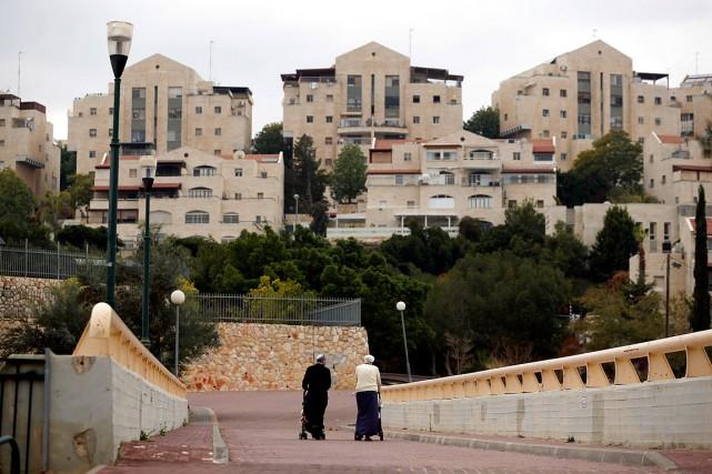 La colonisation israélienne, notamment à Jérusalem, est considérée... (Amir Cohen, archives REUTERS)