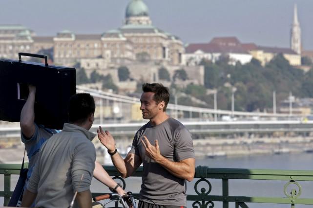 L'acteur australien Hugh Jackman à Budapest pour le... (AFP)