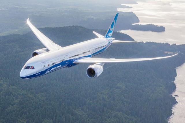 Le 787 Dreamliner est le dernier né de... (PHOTO FOURNIE PART BOEING)