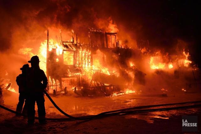 Près de trois ans après l'incendie de la Résidence du Havre, à L'Isle-Verte,... (Archives, La Presse)