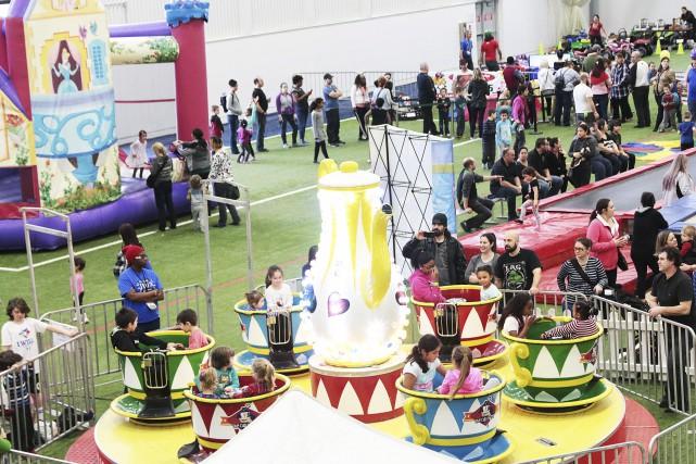La deuxième édition du Festival des jeux se... (Etienne Ranger, Le Droit)