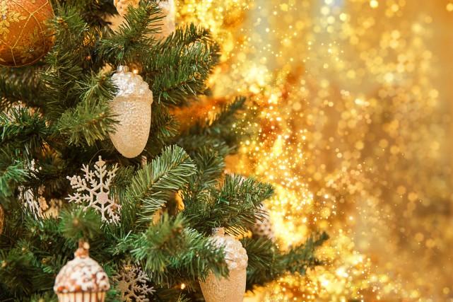 Un arbre de Noël....