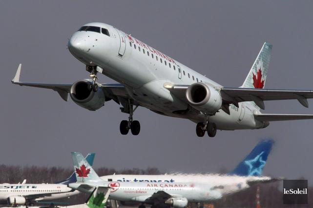 Air Canada a déclaré samedi qu'un médecin et... (Photothèque Le Soleil)