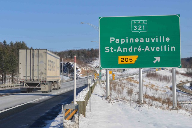 dossier autoroute 50, Papineauville St-André-Avellin...