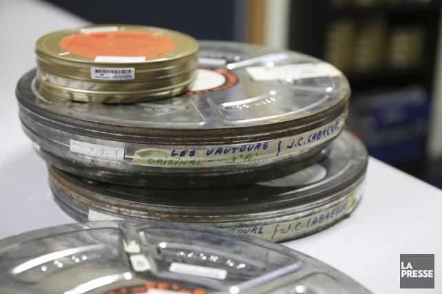 Sur les 5753 films et autres documents classés... (archives La Presse)