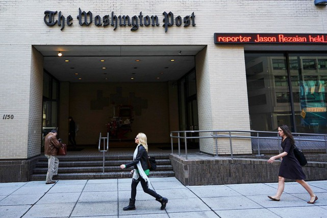 Lors de cette année «remarquable», leWashington Posta vu... (AFP, MANDEL NGAN)