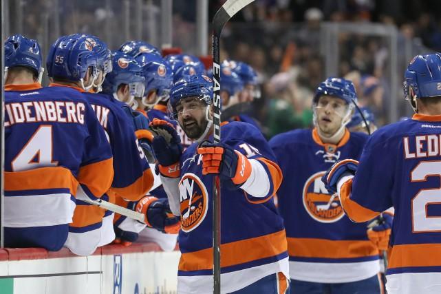Les Islanders n'ont jamais tiré de l'arrière dans... (Photo Anthony Gruppuso, USA TODAY Sports)