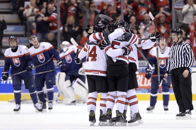 Les Canadiens n'ont accordé que six lancers vers... (Nathan Denette, La Presse canadienne)