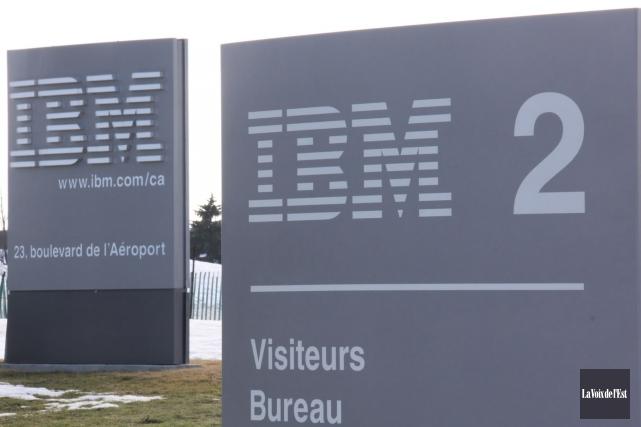 IBM devra verser 24,35M$ aux 451 employés et... (archives La Voix de l'Est)