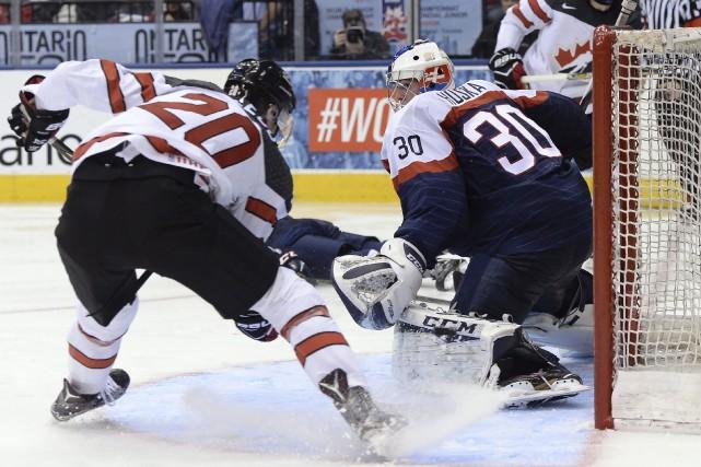 La talentueuse formation canadienne a facilement eu le... (La Presse canadienne,  Nathan Denette)