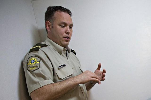 Benoit Richard a été porte-parole de la Sûreté... (Photo Patrick Sanfaçon, Archives La Presse)