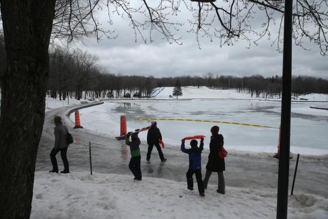 Le froid et les accumulations de neige des... (Photo Martin Chamberland, La Presse)