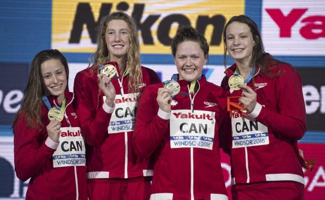 En plus de leurs six médailles à Rio,... (La Presse canadienne, Paul Chiasson)