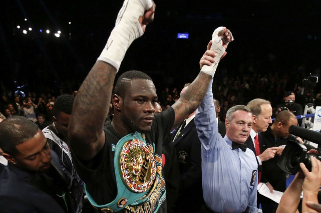 Deontay Wilder... (PHOTO Adam Hunger, archives USA Today Sports)