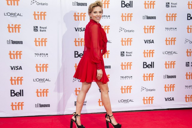 Scarlett Johansson PRESS/Nathan Denette... (Photo Nathan Denette, La Presse canadienne)