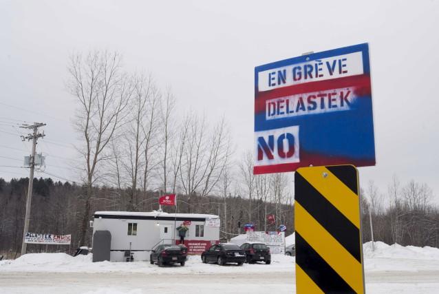 Les signes de la grève chez Delastek sont... (Sylvain Mayer)