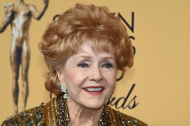 Debbie Reynolds est morte à la suite d'un accident vasculaire cérébral (AVC)... (PHOTO Ethan Miller, ARCHIVES AFP)